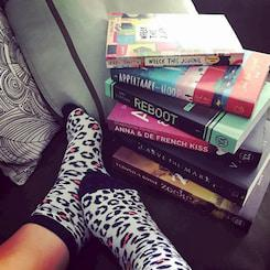Stapeltje boeken afbeelding